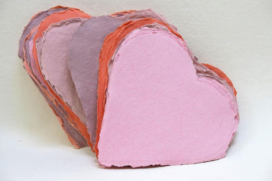 Khadi Paper Hearts