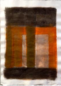 Schizzi Per Una Architettura Monumentale Acquarello Carta - 45x64 cm