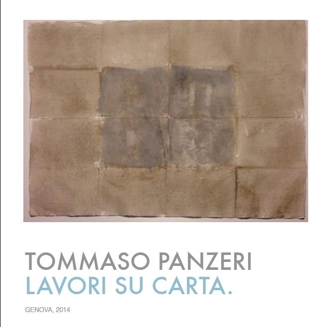 Tommaso Panzeri Lavori Su Carta