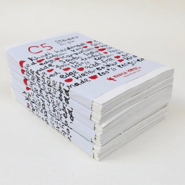 White envelope pack
