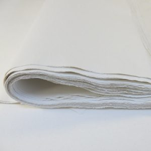 Cotton rag paper.