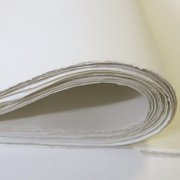 Cotton rag paper.